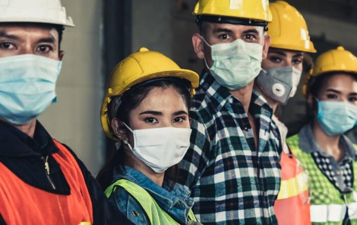 Imafors system används som en av insatserna för att öka tryggheten och säkerheten för medarbetare på industrier vid exempelvis skiftbyten.